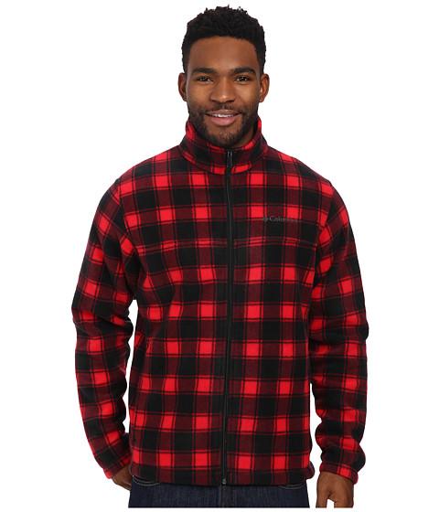 Imbracaminte Barbati Columbia Steens Mountaintrade Print Jacket Bright Red Lumberjack