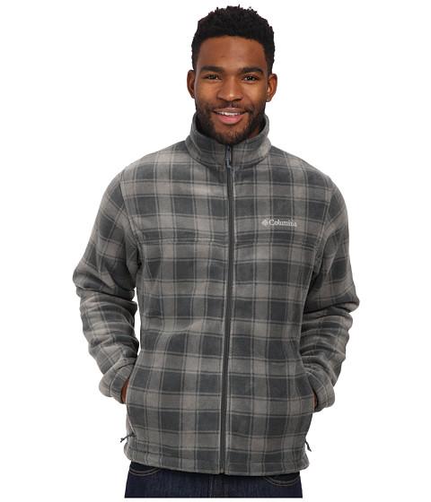 Imbracaminte Barbati Columbia Steens Mountaintrade Print Jacket Graphite Lumberjack