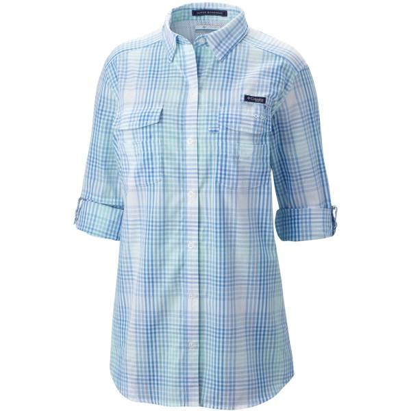 Imbracaminte Femei Columbia Super Bonehead II Shirt - Button Front Long Sleeve (For Plus Size Women) MIAMI PLAID (08)