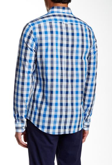 Imbracaminte Barbati Ben Sherman Space Dye Gingham Long Sleeve Regular Fit Shirt L52BRIGHT