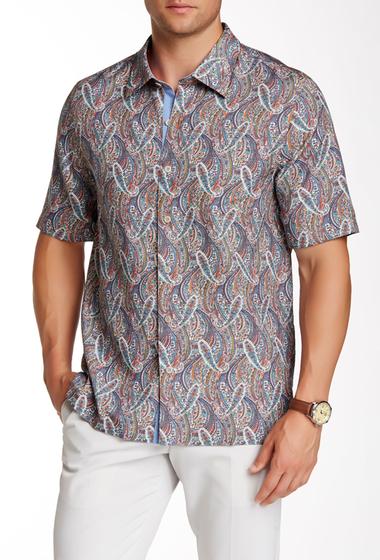 Imbracaminte Barbati Nat Nast Kandinsky Short Sleeve Regular Fit Silk Shirt CLEMENTINE