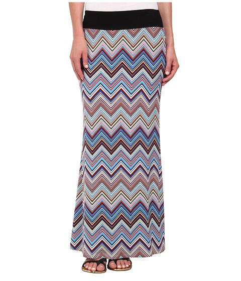 Imbracaminte Femei Karen Kane Miami Zig Zag Maxi Skirt Multicolor