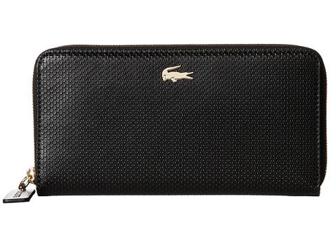 Accesorii Femei Lacoste Chantaco Large Zip Wallet Black