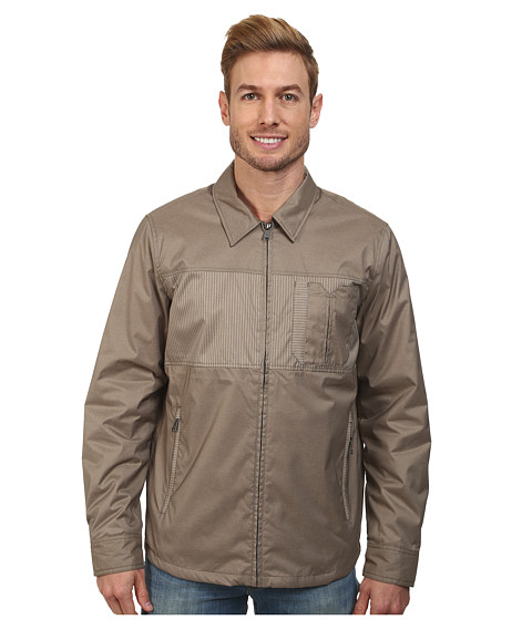 Imbracaminte Barbati Prana Hardwin Shirt Jacket Earth Grey