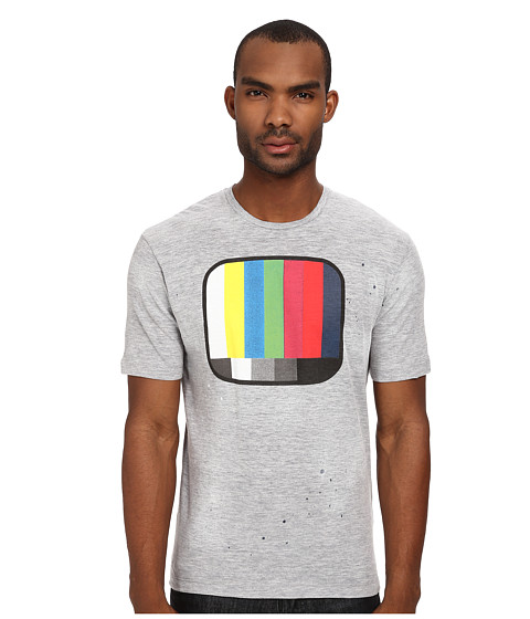 Imbracaminte Barbati DSQUARED2 New Dan Fit TV Tee Grey Melange