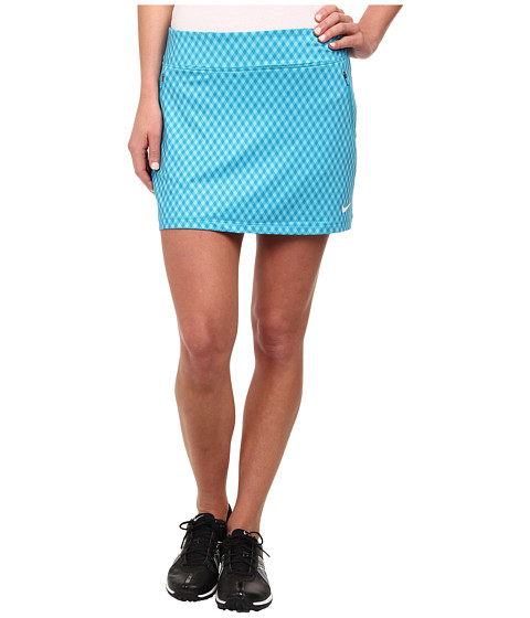Imbracaminte Femei Nike Golf Nike Gingham Flight Skort ClearwaterBlue LagoonBlue LagoonWhite