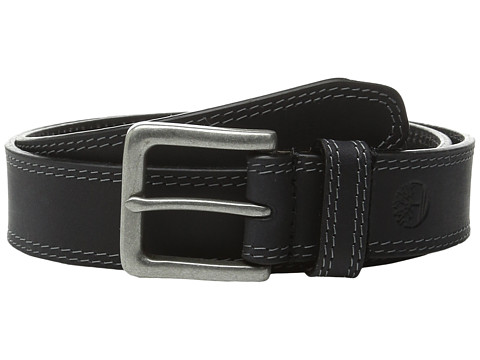Accesorii Barbati Timberland Boot Leather Belt Black 1