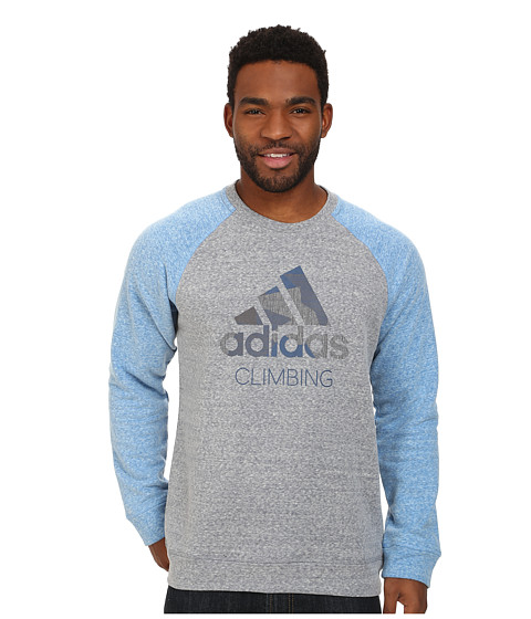 Imbracaminte Barbati adidas Outdoor Edo Logo Sweater GreyBlue Beauty