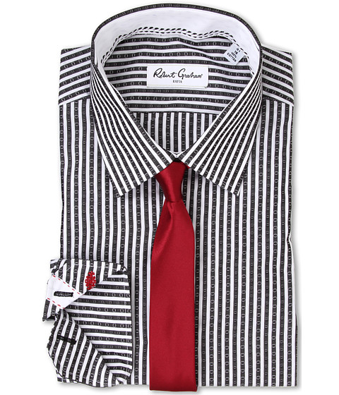 Imbracaminte Barbati Robert Graham Sebastian Dress Shirt Black