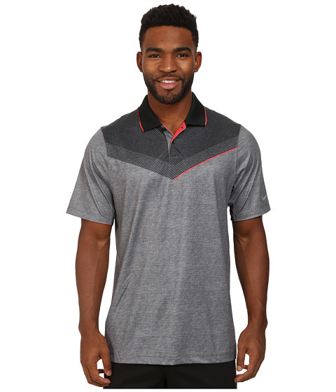 Imbracaminte Barbati Nike Major Moment Launch Polo BlackDaring RedWolf Grey