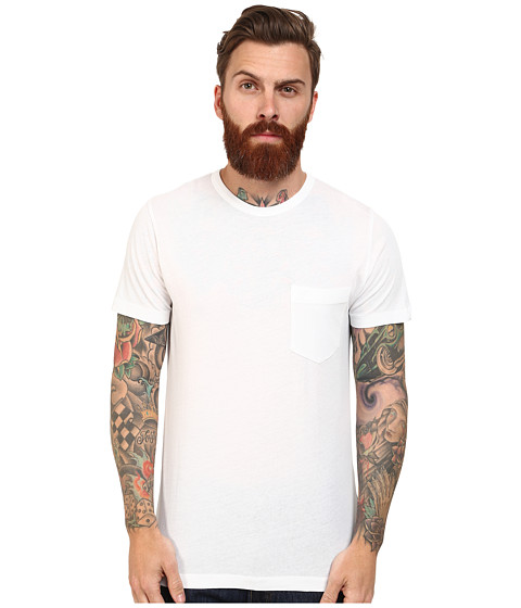 Imbracaminte Barbati French Connection Loose Knit Jersey Tee White