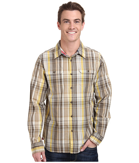 Imbracaminte Barbati The North Face Long Sleeve Ridgecrest Shirt Misted Yellow