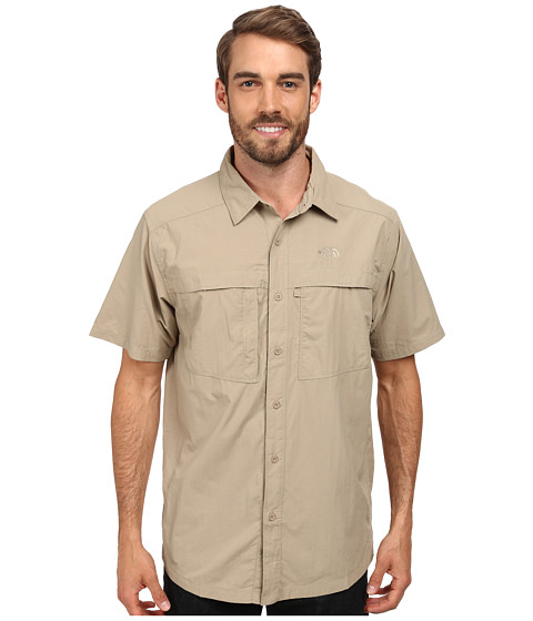 Imbracaminte Barbati The North Face Short Sleeve Cool Horizon Shirt Dune Beige