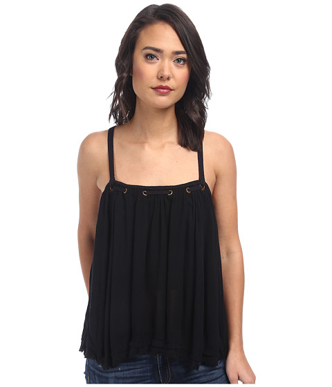 Imbracaminte Femei Free People Rayon Gauze Waiting For You Tank Top Black