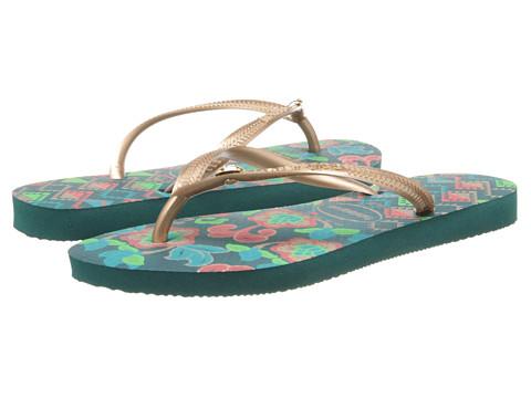 Incaltaminte Femei Havaianas Slim Royal Flip Flops Green