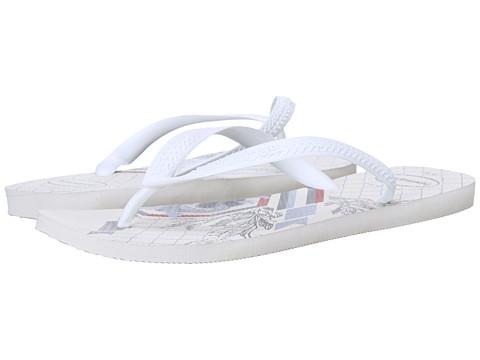 Incaltaminte Barbati Havaianas Bravo Flip Flops WhiteWhite