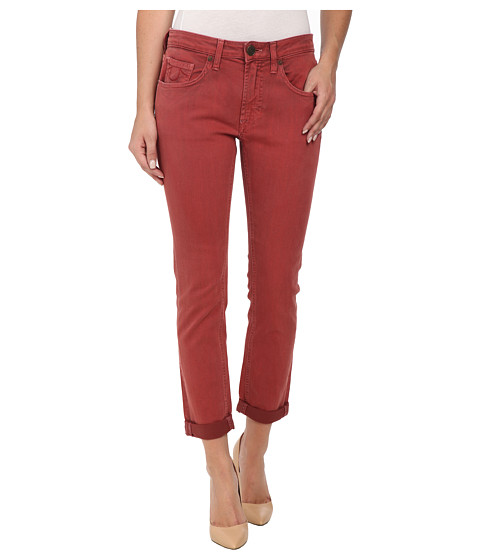 Imbracaminte Femei True Religion Grace New Boyfriend Jeans in Rusty Red Rusty Red