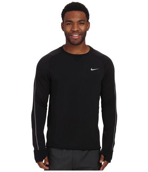 Imbracaminte Barbati Nike Dri-FITtrade Sprint Crew BlackBlackBlackReflective Silver
