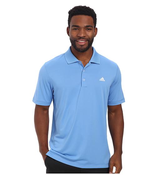 Imbracaminte Barbati adidas Golf Solid Jersey Polo w Front Logo Lucky Blue