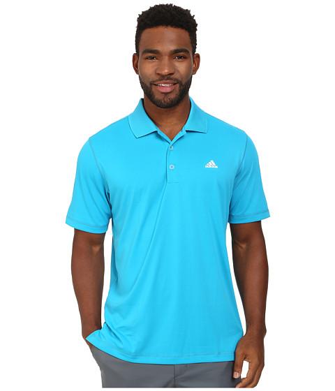 Imbracaminte Barbati adidas Golf Solid Jersey Polo w Front Logo Solar BlueWhite