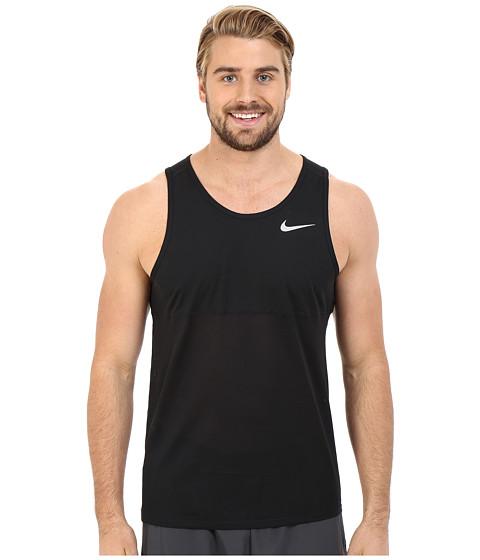 Imbracaminte Barbati Nike Dry Running Tank BlackBlackReflective Silver