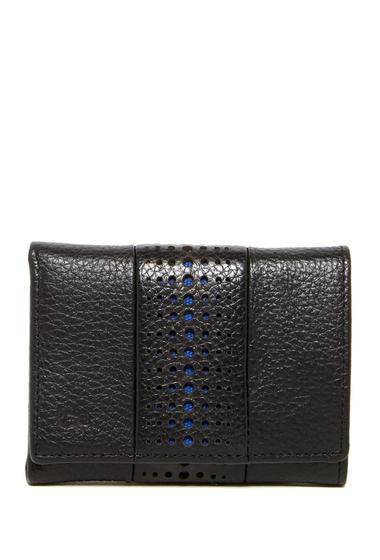 Accesorii Barbati Original Penguin Driving Glove Leather Trifold Wallet BLACK