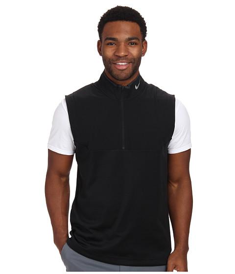 Imbracaminte Barbati Nike Golf Dri-FIT 12-Zip Vest BlackBlackBlackWolf Grey