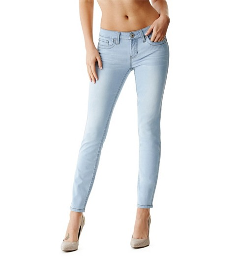 Imbracaminte Femei GUESS Cindy Power Skinny Jeans light wash