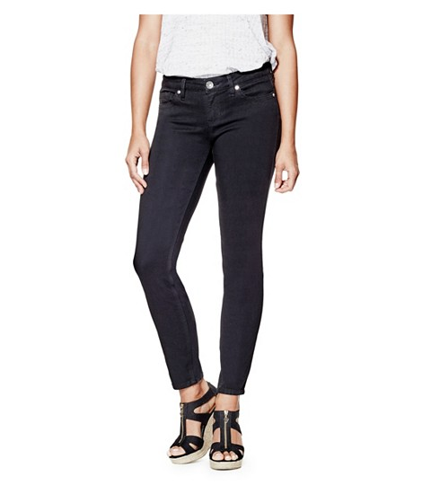 Imbracaminte Femei GUESS Cindy Power Skinny Jeans black wash
