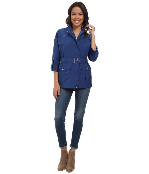 Imbracaminte Femei Cole Haan 30quot Dolman Sleeve Raincoat French Blue