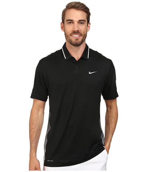 Imbracaminte Barbati Nike Golf Glow Polo BlackWhiteWolf Grey