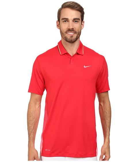 Imbracaminte Barbati Nike Golf Glow Polo University RedHot LavaWolf Grey