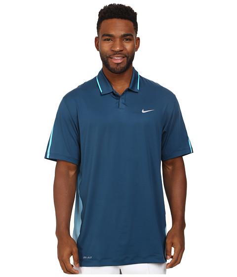 Imbracaminte Barbati Nike Golf Glow Polo Blue ForceClearwaterWolf Grey