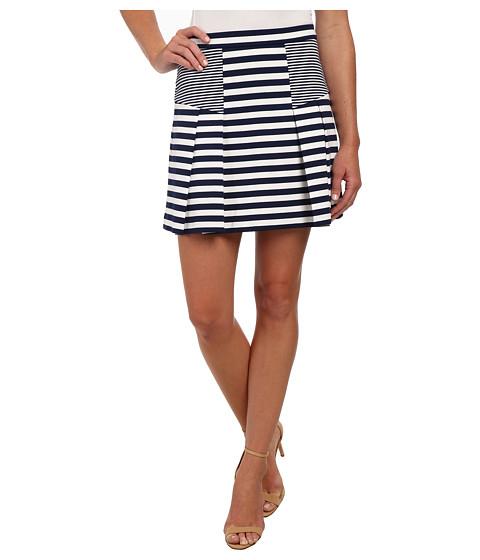 Imbracaminte Femei Michael Kors Flare Stripe Mini Skirt Prussian Blue