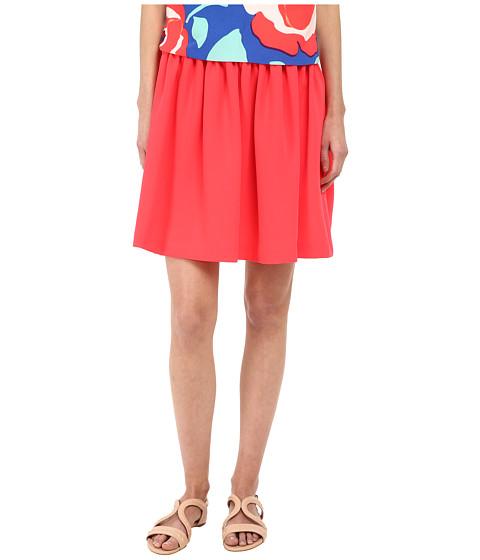 Imbracaminte Femei Kate Spade New York Crepe Gathered Skirt Geranium