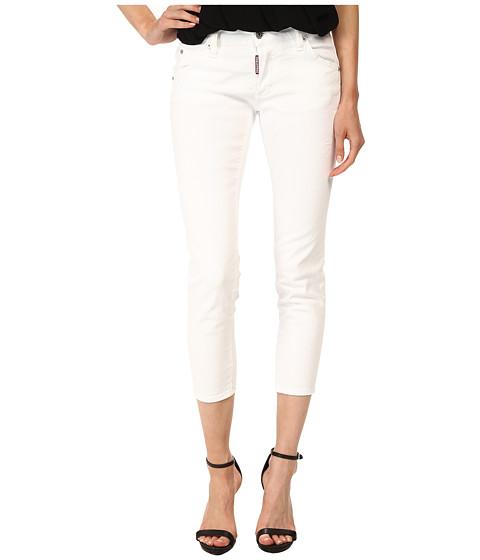 Imbracaminte Femei DSQUARED2 Deana Jeans in White White