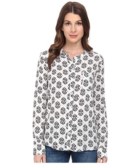 Imbracaminte Femei Splendid Medallion Print Shirt WhiteBlack