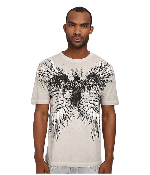 Imbracaminte Barbati Pierre Balmain Wings Graphic Tee Light Grey