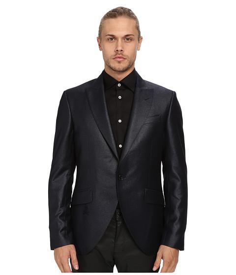 Imbracaminte Barbati Philipp Plein Diamond Cut Blazer Middle Blue