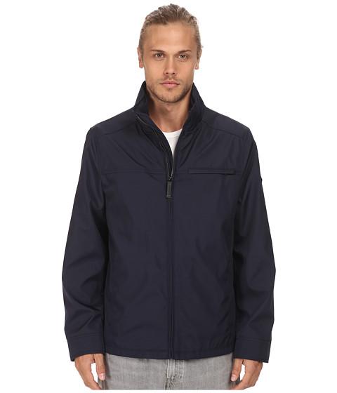 Imbracaminte Barbati Calvin Klein Three Seasons Water Resistant Coat Midnight Blue