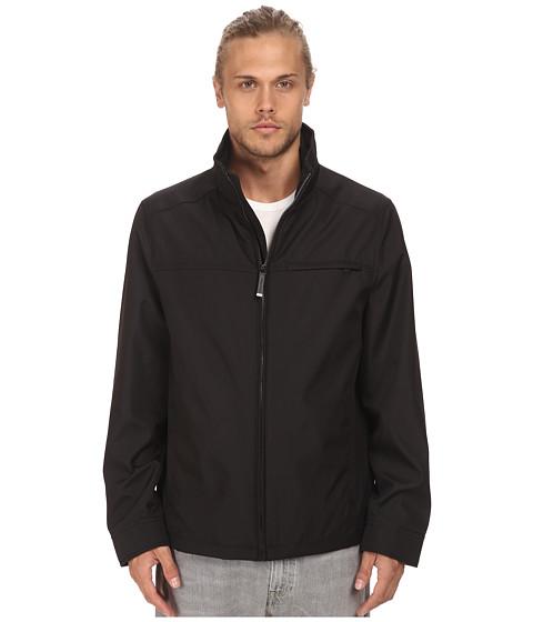 Imbracaminte Barbati Calvin Klein Three Seasons Water Resistant Coat Black