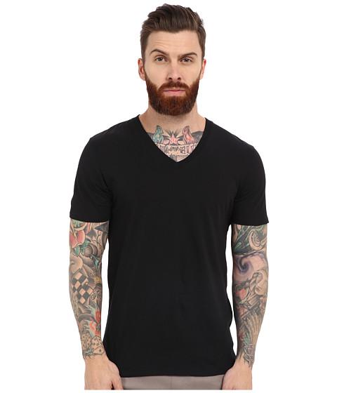 Imbracaminte Barbati Ben Sherman Short Sleeve Basic Tee MB12038 True Black
