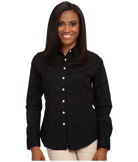 Imbracaminte Femei Dockers Petite The Tailored Stretch Shirt Black