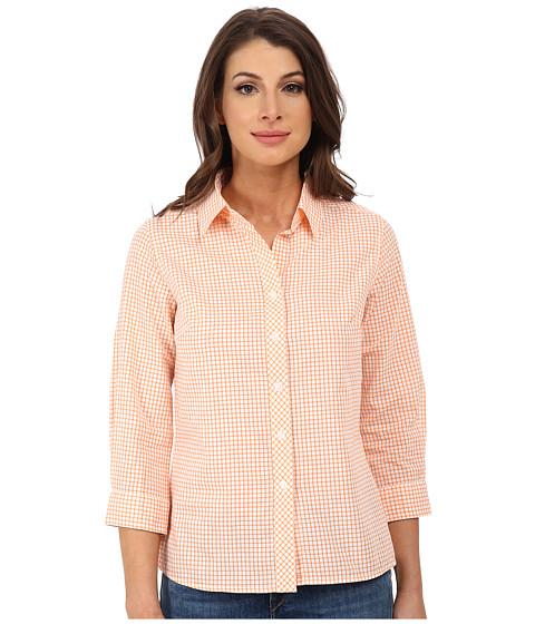 Imbracaminte Femei Pendleton Sophie Shirt Orange PeelWhite Tattersall