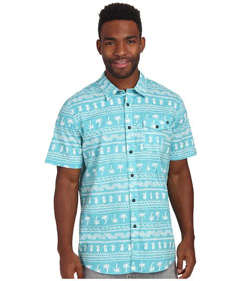 Imbracaminte Barbati Rip Curl Coco Cabana Short Sleeve Shirt Aqua