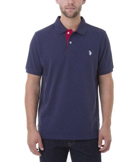 Imbracaminte Barbati US Polo Assn FLECK Polo Shirt CLASSIC NAVY FLECK