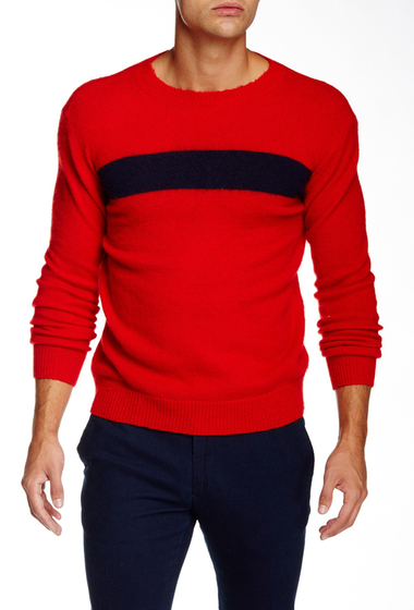 Imbracaminte Barbati Gant Rugger The Rua Crew Neck Sweater BRIGHT RED