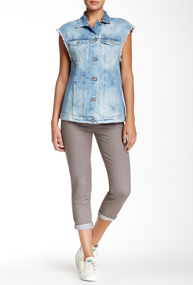 Imbracaminte Femei MOTHER The Skinny Not Skinny Jean LIGHT GREY