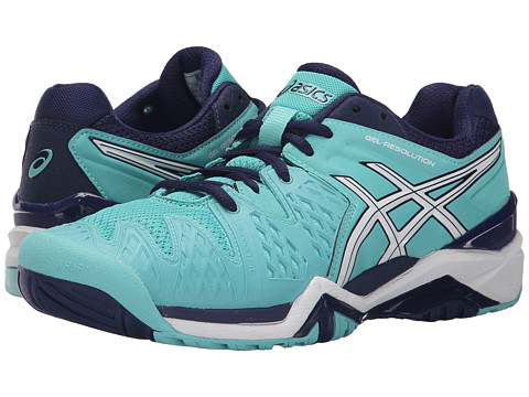 Incaltaminte Femei ASICS GEL-Resolutionreg 6 Pool BlueWhiteIndigo Blue