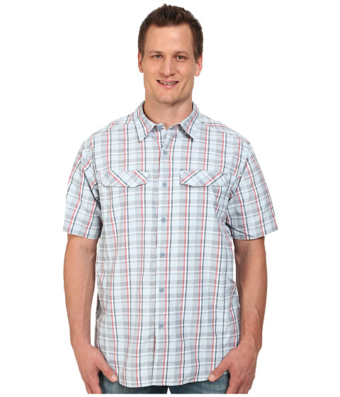 Imbracaminte Barbati Columbia Silver Ridgetrade Multi Plaid SS Shirt - Big Whale Plain Weave